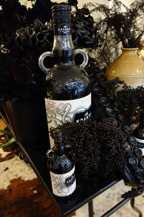 Black Roses Kraken Rum Think Ink