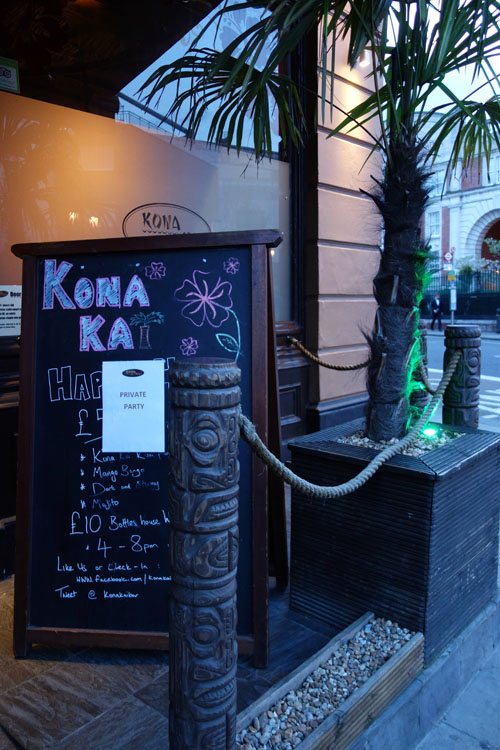 London Bloggers Kona Kai