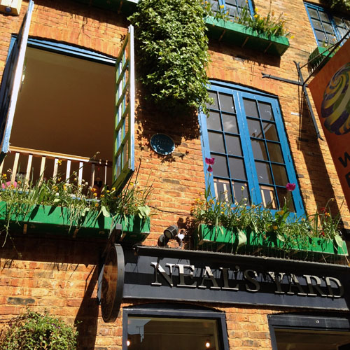 London Bloggers Neals Yard