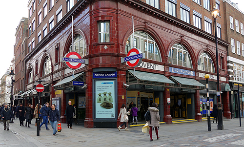 Advice for Riding the London Tube