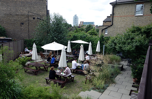 Guildford Arms Greenwich Beer Garden