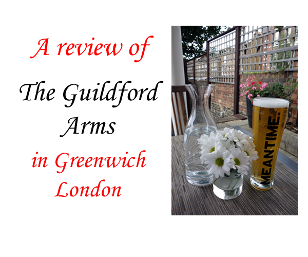 Guildford Arms Greenwich Review