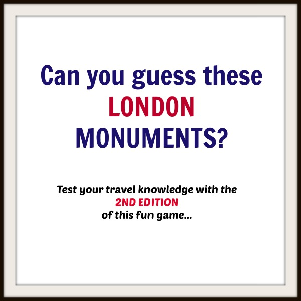 London Monuments Game