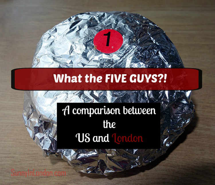 Five Guys Review London