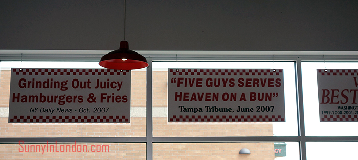 Five Guys Review USA
