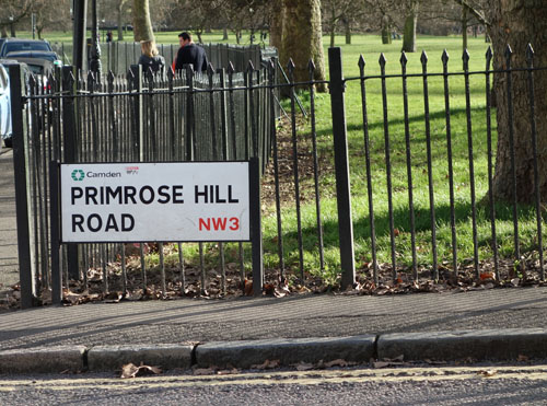 Best Views in London- Primrose Hill