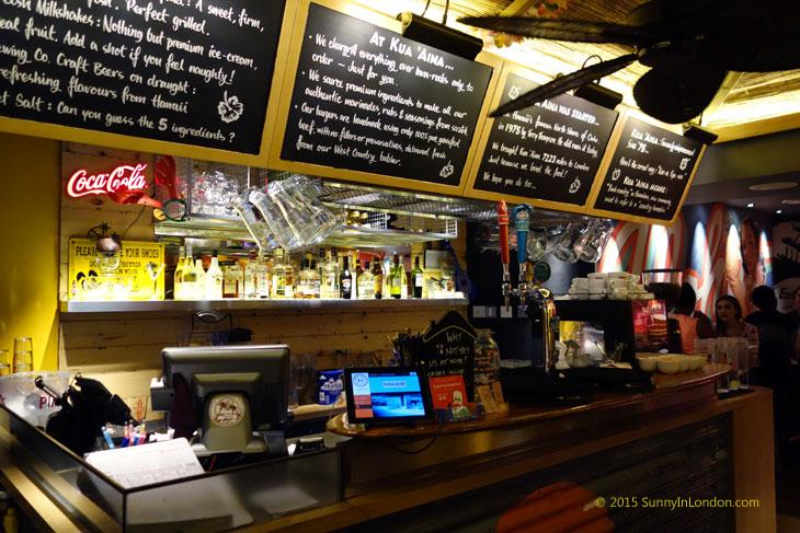 Kua Aina Burgers London Goodge Street