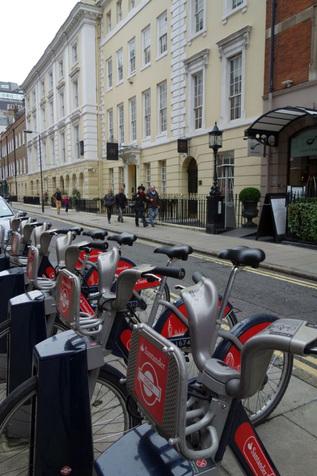 London Blogger Boris Bikes 2015