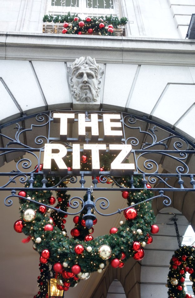 London blogger The Ritz Afternoon Tea 2015