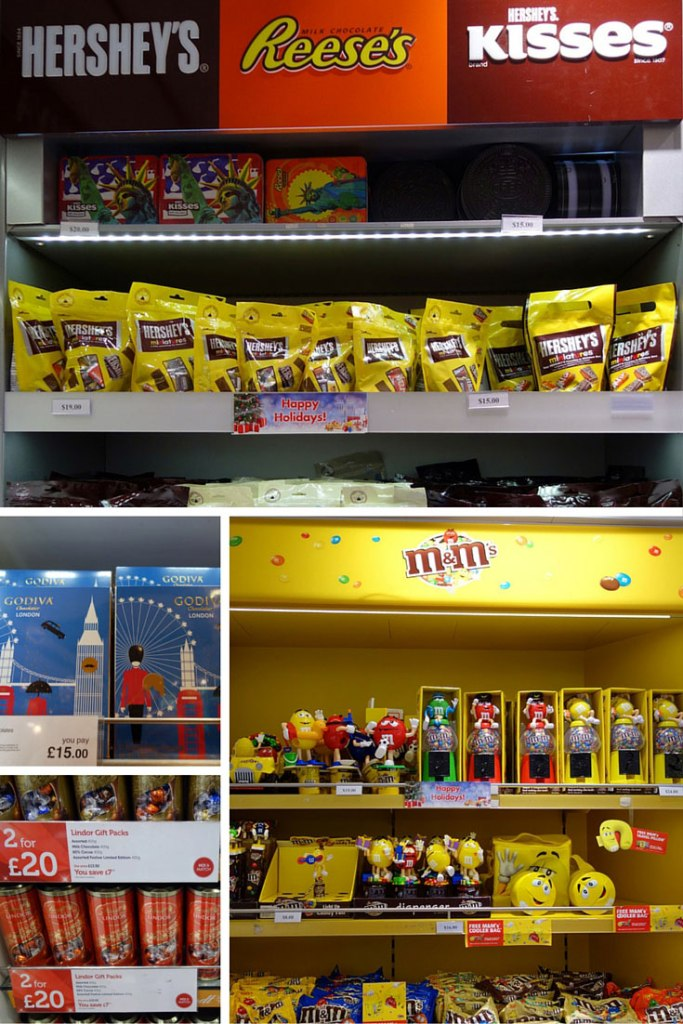Duty Free Price Chocolate Heathrow London Atlanta Airport Shopping
