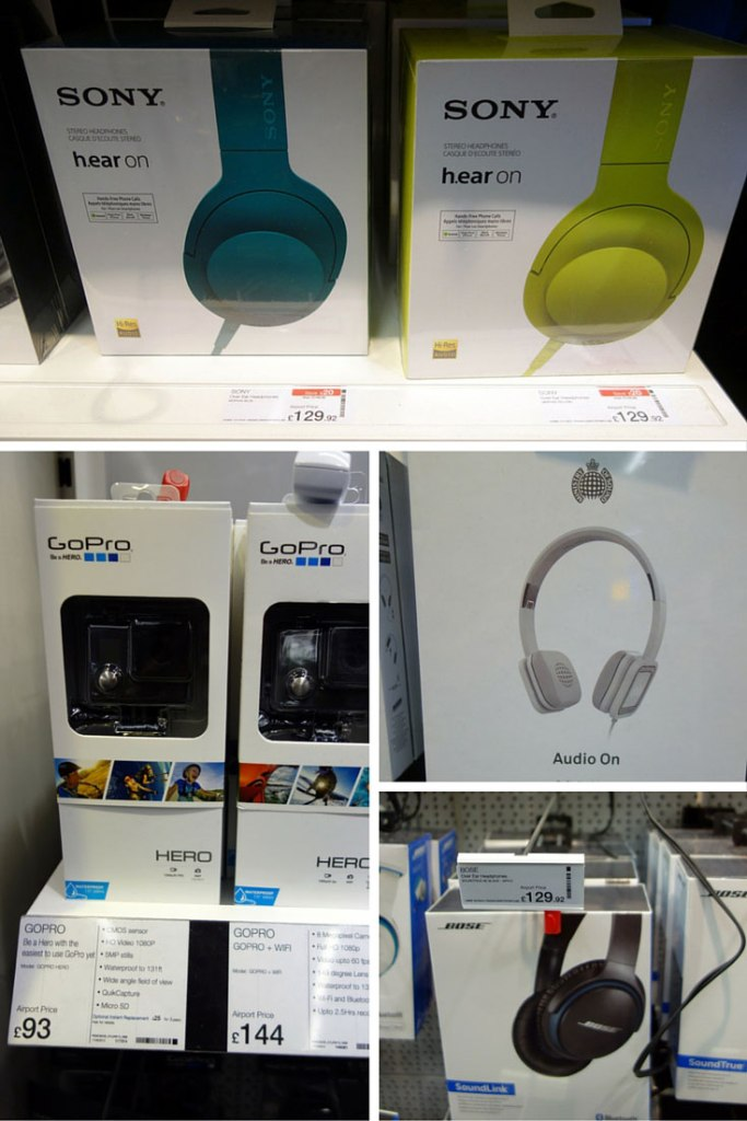 Duty Free Price Headphones Heathrow London Airport