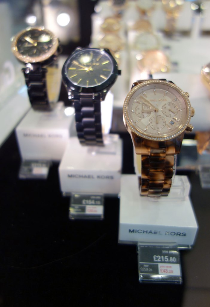 Duty Free Price Michael Kors Watch Heathrow London Airport Shopping