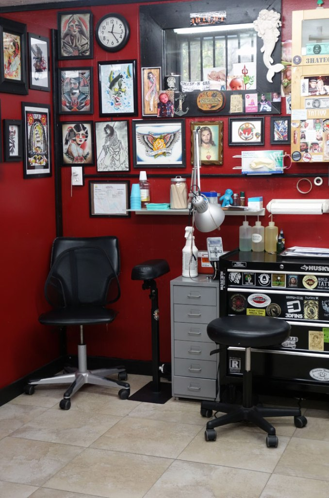 Getting a Travel Tattoo Hold Fast Daytona Beach