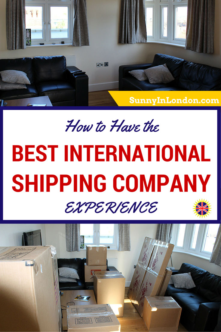 How To Have The Best Internatioanl Shipping Company Experience Is Written  By An American Expat Living