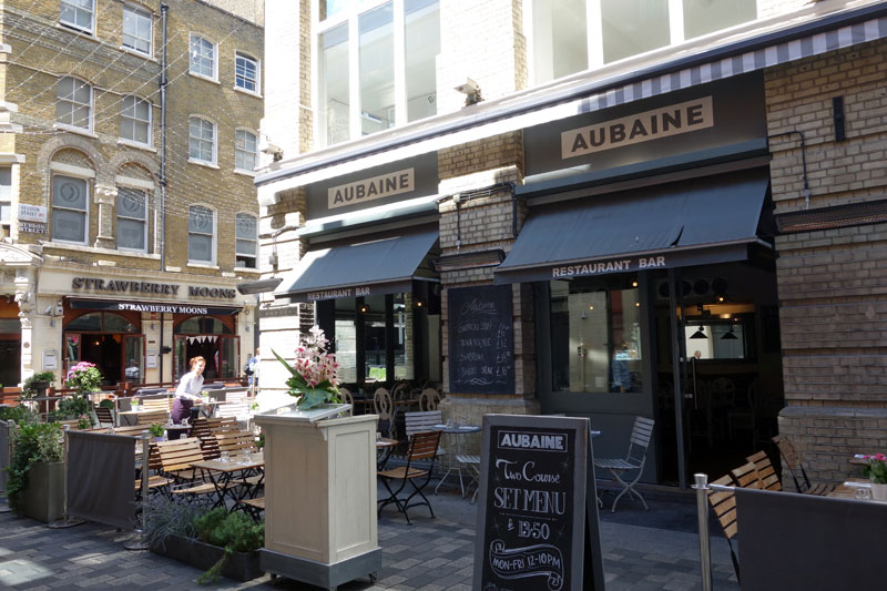 Where to Eat in London- 5 Streets for Foodies-aubaine