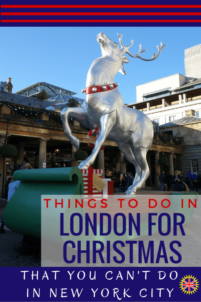 London for Christmas- Things to Do that you can't do in NYC