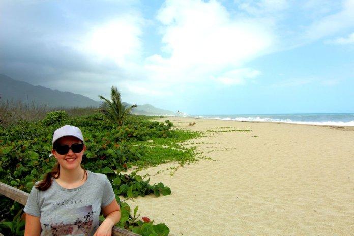 Me at Arrecifes Tayrona