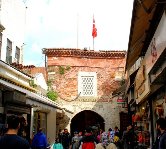 Entrance Istanbul Grand Bazaar