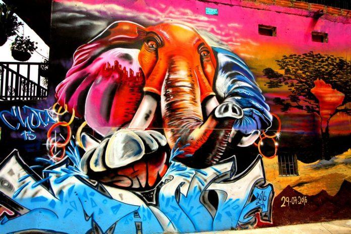 Medellin Comuna 13 Street Art