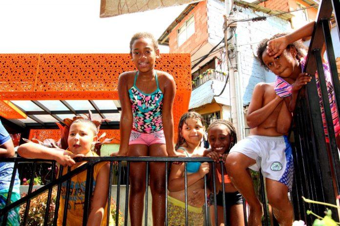 Medellin Comuna 13 children