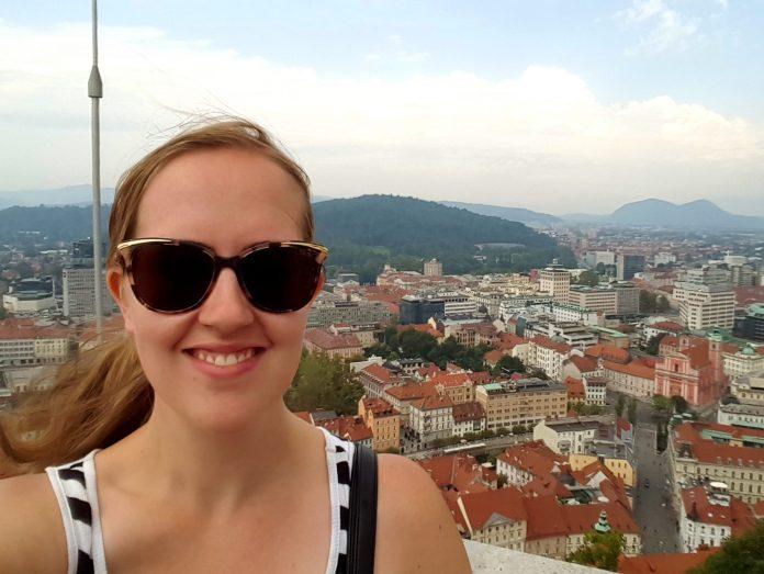 Ljubljana Slovenia selfie