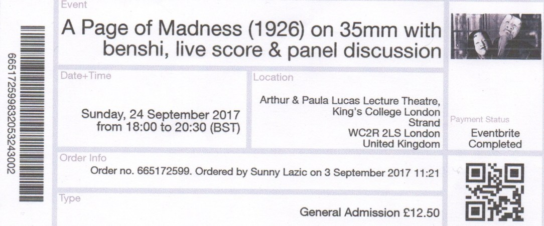 page of madness live score