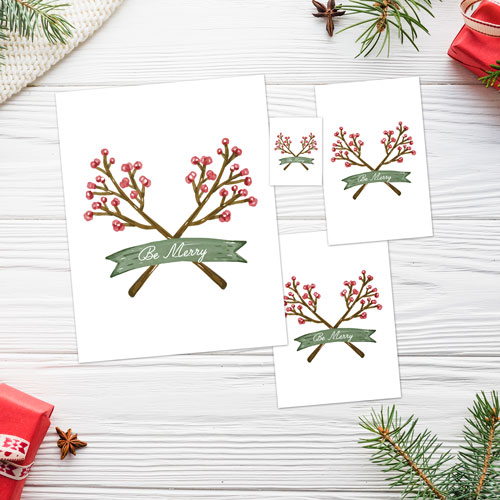 Christmas Watercolor Cards