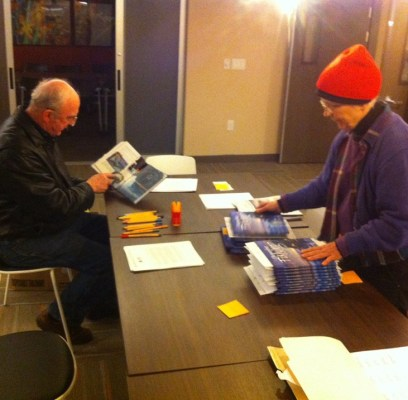 December 1, Book Release Mailing Party…or how we signed and shipped almost 200 books in less than one day