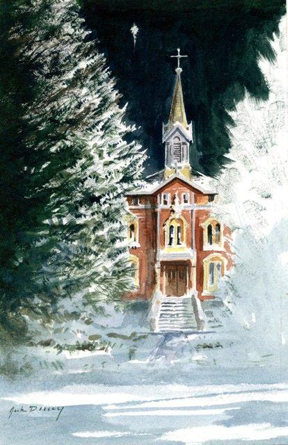 O holy night - dad's Christmas Card, 2014