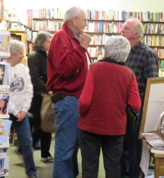 Redmond book signing 8