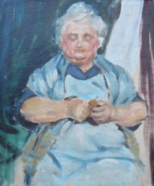 Sayre Cooney, oil painting study, Penn. Academy of Fine Art a