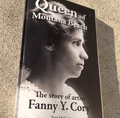 Release Announcement of Queen of Montana Beach: the story of artist Fanny Y. Cory.
