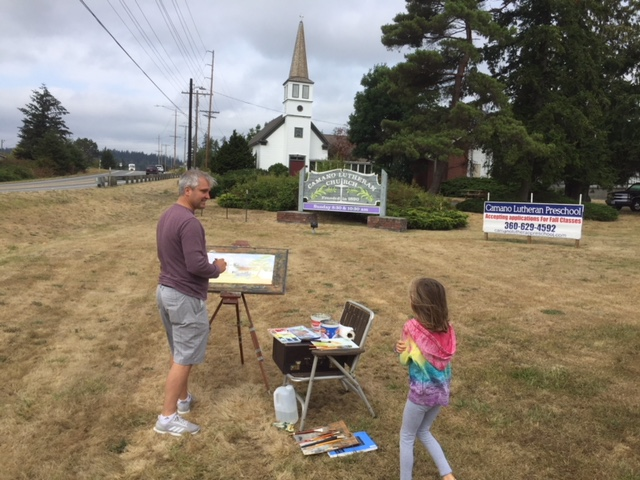 Painting Lutheran Church
