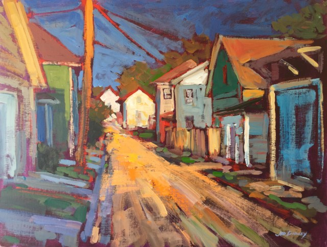 02 - Alley Sunshine - 18x24