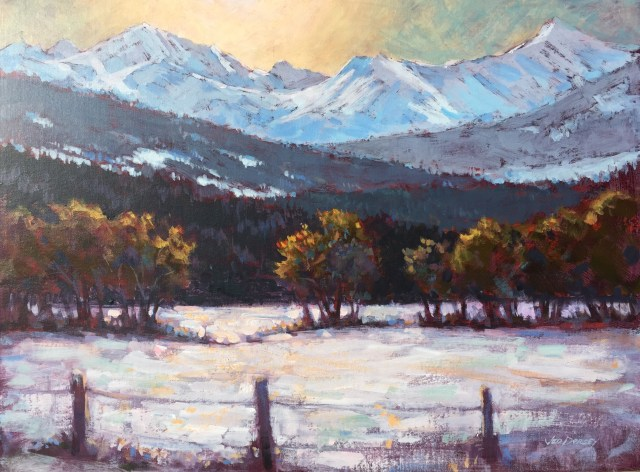 03 - Early Snow, Kananaskis - 18x24