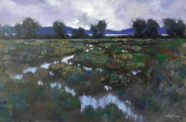 05 - Soft Day, Camano Crossing - 24x36