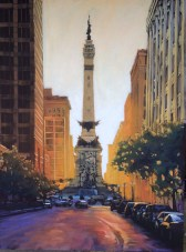 Good Morning Indy - 36x48