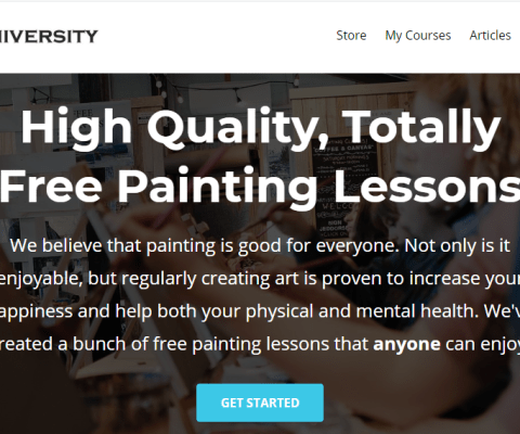 Acrylic University Offers Free Courses during shutdown