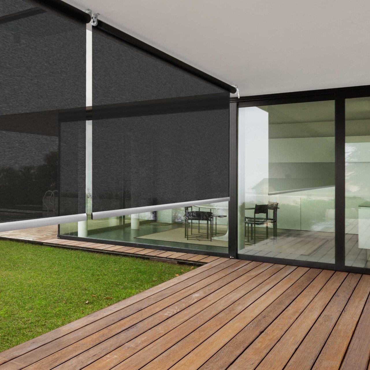 omni screen outdoor blinds