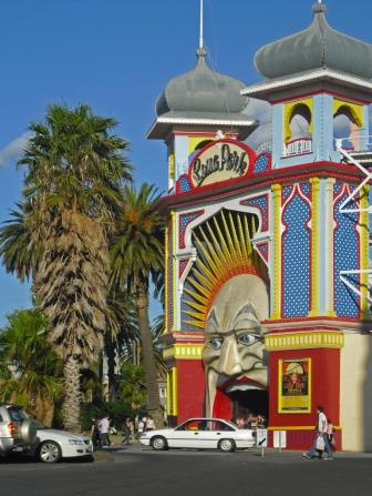 Tipps Melbourne Eingang Luna Park