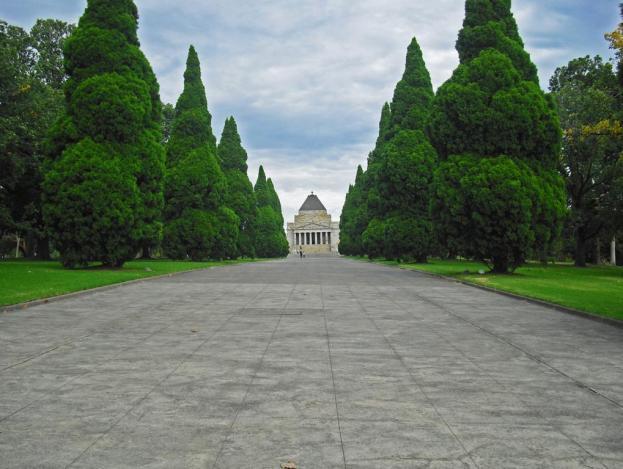 Sehenswürdigkeiten Melbourne: Shrine of Rememberance