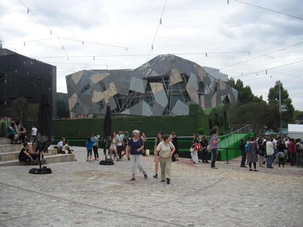 Melbourne Sehenswürdigkeiten Federation Square