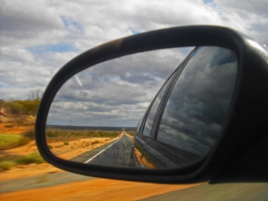 Roadtrip Australien 90 Mile Straight Road
