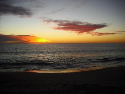 Roadtrip Australien Westküste Fremantle Sonnenuntergang