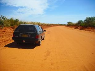 Roadtrip Australien Westküste Auto Broome