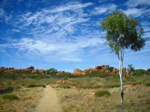 Roadtrip Australien Devils Marbles