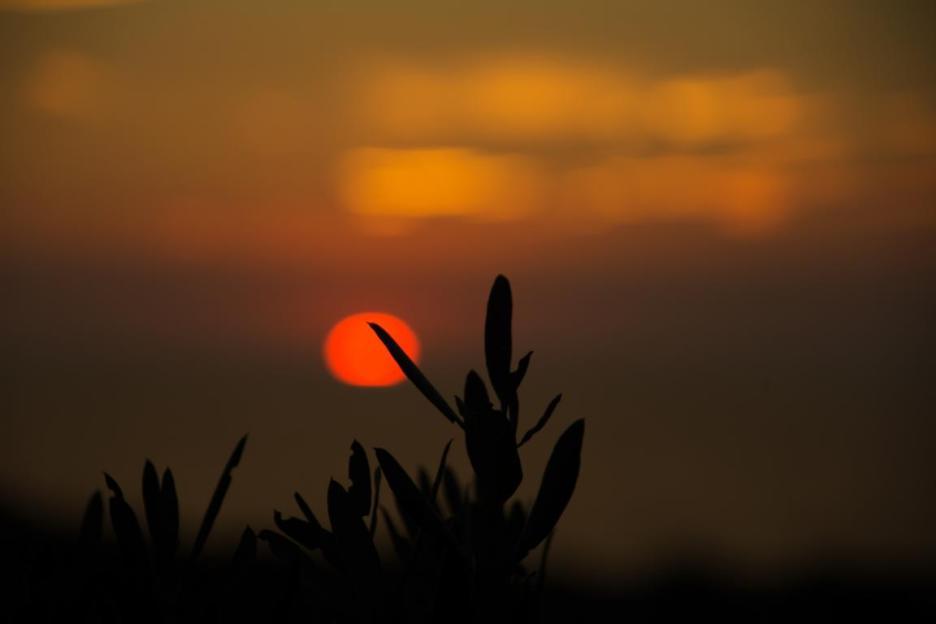 Ein Sonnenuntergang in der Türkei