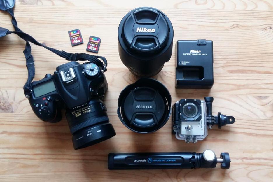Nur mit Handgepäck reisen Bali Packliste Kameraequipment