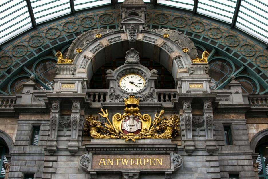 Antwerpen Centraal der schönste Bahnhof Europas