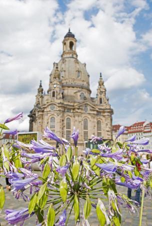 Unternehmungen Dresden: Die Frauenkirche